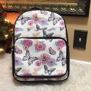 Betsey Johnson Butterfly Floral Backpack